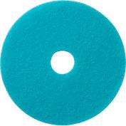 "Global Industrial™ 20"" Burnishing Pad, Light Blue, 5 Per Case"