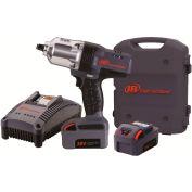 "Ingersoll Rand W7150-K2 1/2"" 20V Hi-Torque Cordless Impact Wrench Kit 2 Batteries 3.0Ah"