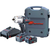 "Ingersoll Rand W7150-K22 1/2"" 20V Hi-Torque Cordless Impact Wrench Kit 2 Batteries 5.0Ah"