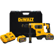 "DeWALT DCH481X2 FLEXVOLT 60V MAX Li-Ion 1-9/16"" SDS-plus Brushless Comb Rotary Hammer Kit 9.0Ah"