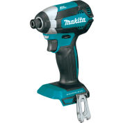 "Makita XDT13Z 18V LXT Lithium-Ion Brushless 1/4"" Cordless Impact Driver (Tool Only)"