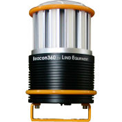Lind Equipment LE360LEDC Battery Operated Beacon 360, 45W, 4500K, 6000L, w/Mounting Bracket
