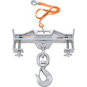 Global Industrial™ Double Fork Forklift Hook Attachment - 10,000 Lb. Cap. - Swivel Hook