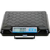 "Brecknell GP100-USB Digital Bench Scale with USB Port, 100 x 0.2 lb, 12-1/2"" x 11"" Platform"