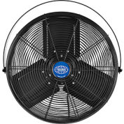 Outdoor Rated Workstation Fan 18 Inch Diameter with Yoke Mount, 1/3 HP, 120V