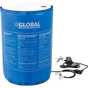 Adjustable 55 Gallon Drum Heater Blanket - Temperature Control to 145°F