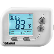 Non-Programmable Thermostat, Heat, Cool, Off, Auto, 24 VAC