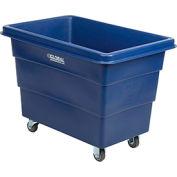 Plastic Bulk Box Truck, 8 Bushel, Blue