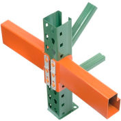 "Husky Rack & Wire IBX43120 - Pallet Rack Tear Drop Beam 120""L, 4190 Cap"