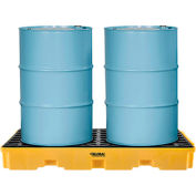 Global Industrial™ 2 Drum Spill Containment Platform
