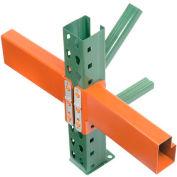 "Husky Rack & Wire IBX35096 Pallet Rack Tear Drop Beam 96""L, 4044 Cap"
