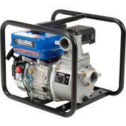 "Global Industrial® GP50 Portable Gasoline Water Pump 2"" Intake/Outlet 7HP"