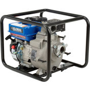 "Global Industrial™ GTP50A Portable Gasoline Trash Pump 2"" Intake/Outlet 7HP"