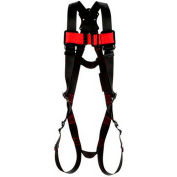 Protecta® 1161571 Vest Style Harness, Pass-Thru Buckle, M/L
