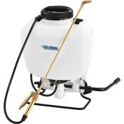Global™ Industrial Commercial Duty Manual Backpack Pump Sprayer W/ Brass Wand & Nozzle