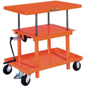 PrestoLifts™ Hand Crank Operated Post Lift Table P2436 - 24x36 - 2000 Lb. Cap.