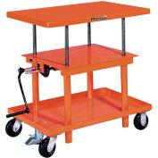 PrestoLifts™ Hand Crank Operated Post Lift Table P3036 - 30x36 - 2000 Lb. Cap.