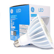 GE Lighting 88801 LED32DP38W830/25  LED Par 38 Lamp, 32W, 3000K, 3000 Lum, 25 Degree Beam Angle, Dim