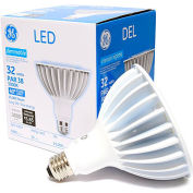 GE Lighting 88810 LED32DP38W830/40  LED Par 38 Lamp, 32W, 3000K, 3000 Lum, 40 Degree Beam Angle, Dim