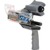 """Shurtape® FE-3"""" Folded-Edge Hand Dispenser, Gray/Blue"""