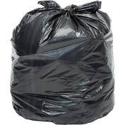 Global Industrial™ Light Duty Black Trash Bags - 20-30 Gal, 0.39 Mil, 500 Bags/Case