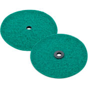 Replacement Scrubbing Pads for Mini Floor Scrubber, 2 Pack