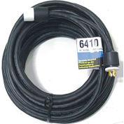 CEP 6410, 100′ 10/4, SOW, Rubber Extension Cord, 30A, 125/250V, NEMA L14-30P to L14-30R