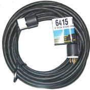 CEP 6415, 50′ 10/4, SOW, Rubber Extension Cord, 30A, 125/250V, NEMA L14-30P to L14-30R