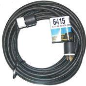 CEP 6415, 50′ 10/4, SOW, Rubber Extension Cord, 30A, 125/250V, NEMA L14-30P to L14-30R