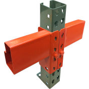 Global Industrial™ 96 Inch Pallet Rack Beam - Slotted 5015 lbs cap (2Pcs)