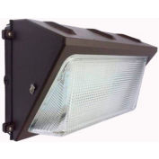 Commercial LED CLW4-805WMBR LED Wall Pack, 80W, 11,600 Lumens, 5000K, IP65, DLC 4.4