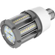 Commercial LED CLC1-12W-RE-E26 LED Corn Lamp, 12W, 1740 Lumens, 5000K, Type B, Medium Base, DLC 4.4