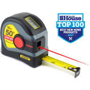 General Tools LTM1 25' Tape Measure W/50' Laser Measure
