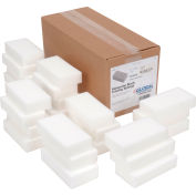 "Global Industrial™ Awesome Erasing Sponge, White, 2.5"" x 4.75"" - Case of 24 Sponges"