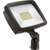 Lithonia TFX2 LED 40K MVOLT IS DDBXD LED Flood, 94W, 12700 Lum, 4000K, Bronze, DLC, Slip Fitter