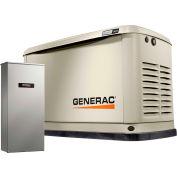 Generac® 7177 - 16/16 kW 120/240V 1 Phase Air-Cooled Standby Generator, NG/LP, Aluminum Enclosure