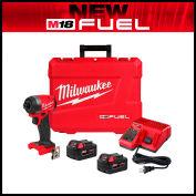 "Milwaukee® 2583-22 M18 FUEL™ 1/4"" Hex Impact Driver Kit"