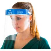 Splash Protection Face Shield, Anti-Fog, Anti-Static, 1/Each