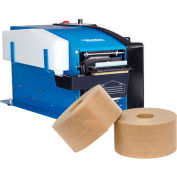 "Global Industrial™ Electronic Tape Dispenser for 1/2"" - 3"" Kraft Tape with FREE Case of Tape"
