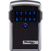 Master Lock® Bluetooth® Wall-Mount Lock Box for Business Applications - Silver/Black