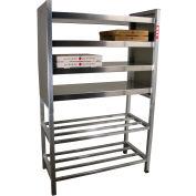 "Lockwood Stationary Food Warming Shelf with Stand, 49""x22""x39"