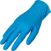 Premium Industrial Powder-Free Nitrile Disposable Gloves, 4 MIL, X-Large, 100/Box