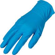 Premium Industrial Powder-Free Nitrile Disposable Gloves, 4 MIL, Small, 100/Box