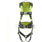 Miller® H500 Harness Industry Comfort, Tongue Buckle, Side D Ring, L/XL