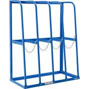 "Global Industrial™ Vertical Bar Storage Rack, 4 Bays, 48""Wx24""Dx60""H, 6000 Lb. Cap. - Assembled"