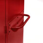 Sandusky Cabinet Push Handle TSH, Red