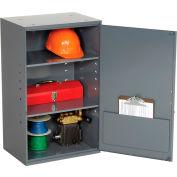 "Durham Utility Wall Mount Cabinet 056-95 Dark Gray - 19-7/8""W x 14-1/4""D x 32-3/4""H"