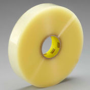 3M Carton Sealing Tape for Recycled Boxes 3072 72 mm x 914 m 2.3 Mil Clear - Pkg Qty 4