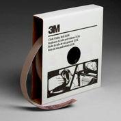 3M Utility Cloth Roll, 1 W x 50 Yd, Aluminum Oxide, 180 Grit
