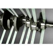 """3M™  Microfinishing Film Roll 372L, 8"""" x 150' x 3"""" 30 Micron Grit"""
